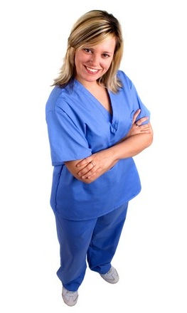 Plus Size Clothes: Scrubs